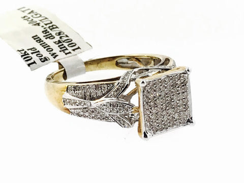 WOMENS BRIDAL RING .40