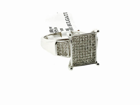 10K WHITE GOLD SQUARE BRIDAL