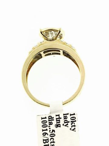 WOMENS 10K GOLD RING .50