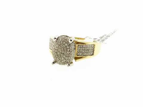 10K YELLOW GOLD .60 CARATS