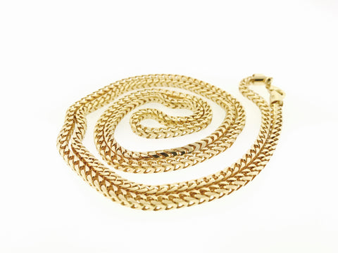 FRANCO CHAIN (36 INCHES, 4 MM, 70.1 GRAMS)