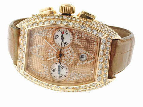 Frank Muller Conquistador Iced Out