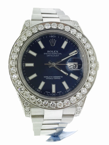 Rolex DateJust Stainless 9.25 Carats 42 MM