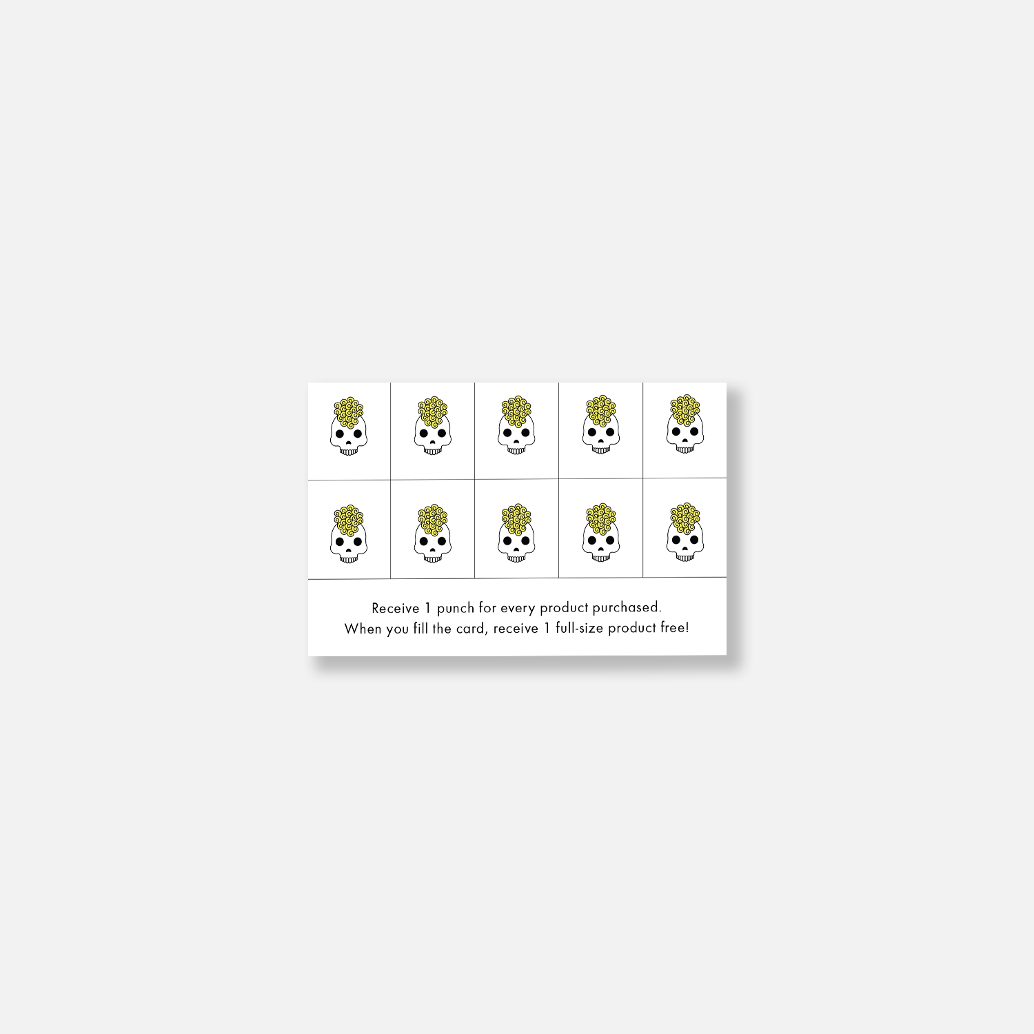 client retail loyalty cards
