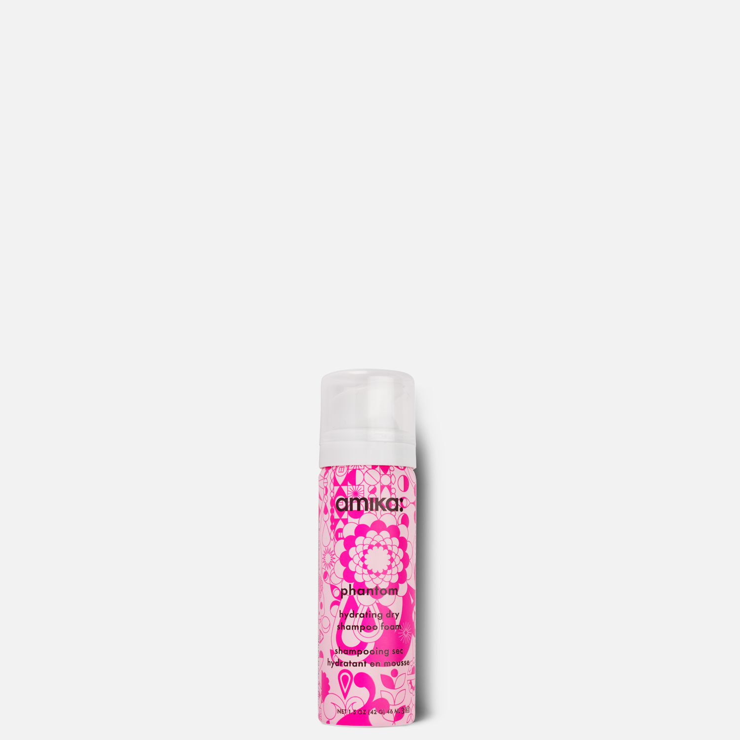 Phantom Hydrating Dry Shampoo Foam 1.5 oz | amika
