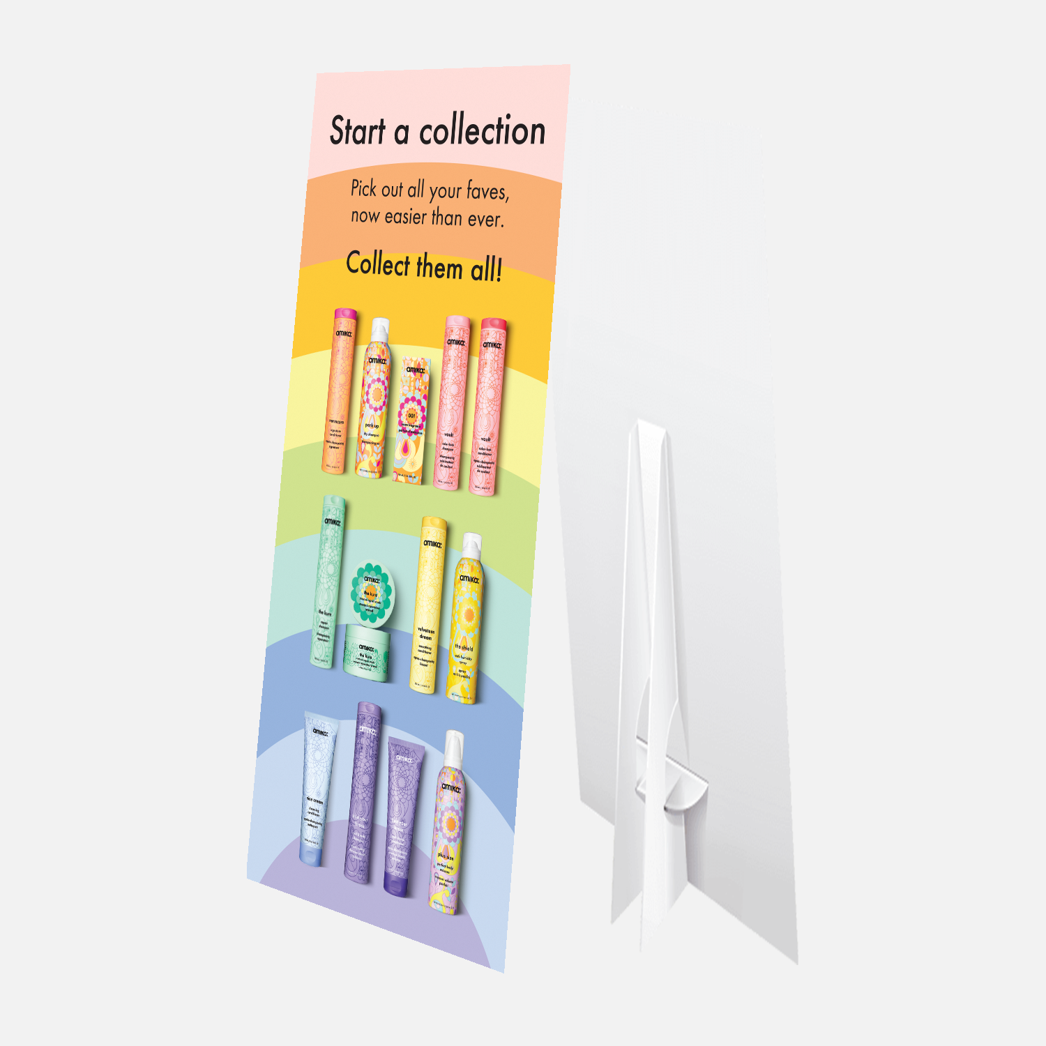 start a collection easel | amika