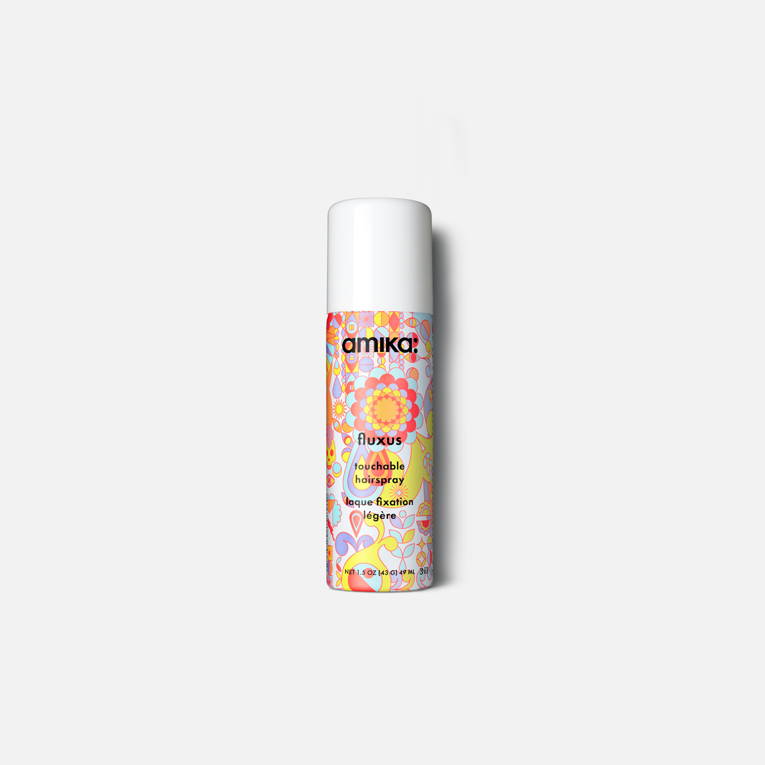 lookin like a snack bag set normcore signature shampoo + conditioner, perk up dry shampoo, + fluxus touchable hairspray | amika