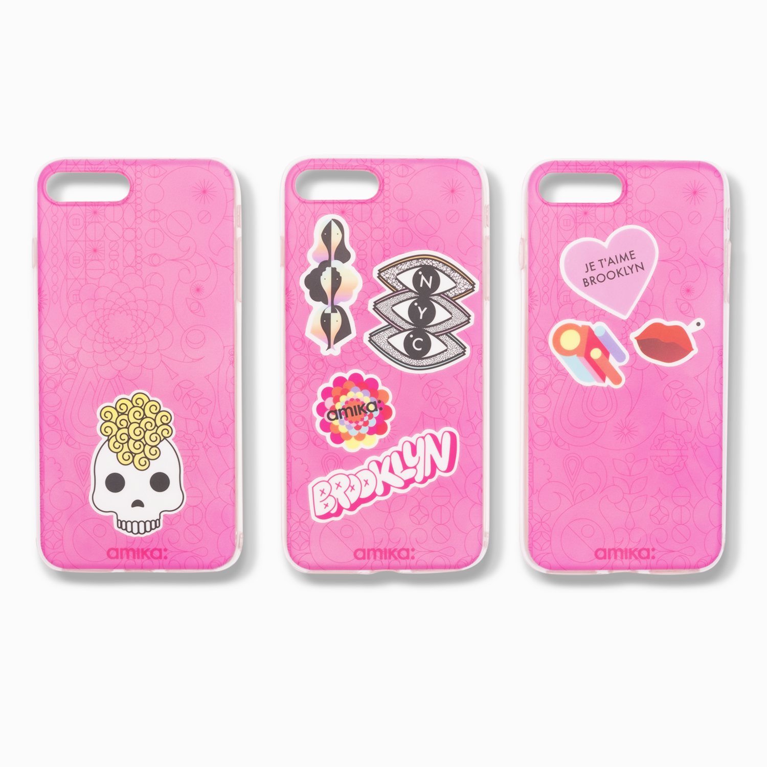 pink iPhone cases | amika