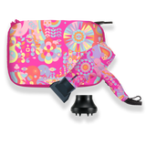 mighty mini ionic dryer pink signature print | amika