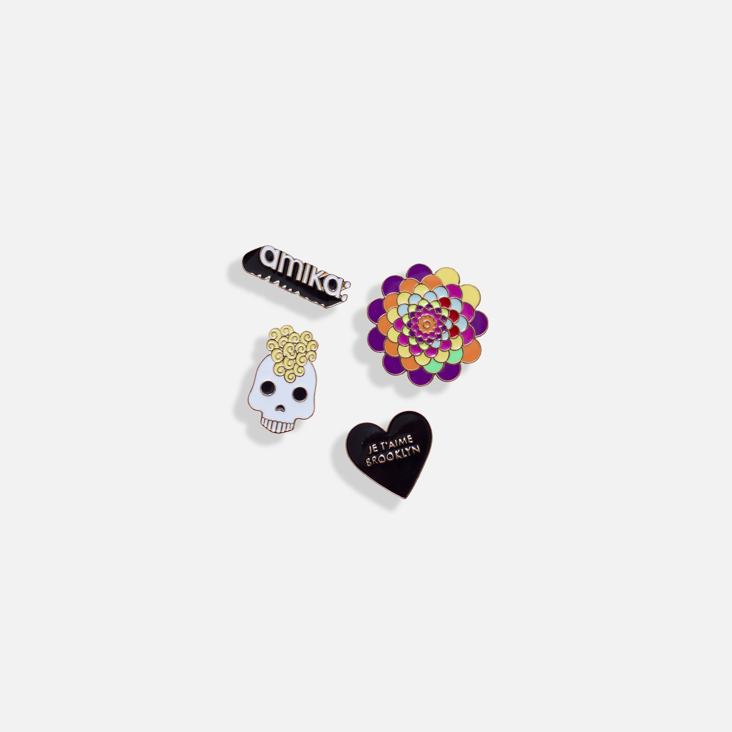 pins <p> set of 4