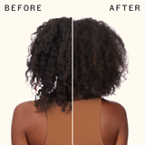 un.done | volume and matte texture spray before and after | amika