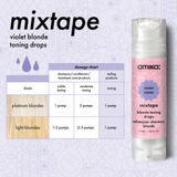 mixtape purple blonde toning drops | amika