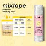 mixtape golden blonde color enhancing drops | amika