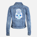 Levi's jean jacket with amika skull