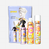 spring fling kit perk up dry shampoo, fluxus touchable hairspray, + Brooklyn bombshell blowout spray | amika