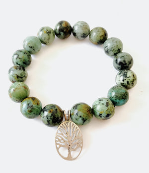 African Turquoise Tree of Life For Communication Healing