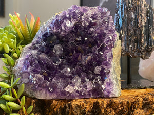 Free Standing Amethyst Energy Home Office Decor