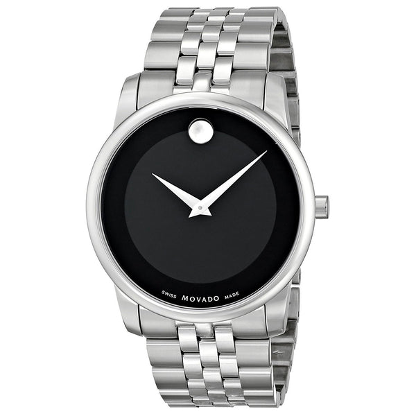 Movado Men's 0606504 'Museum' Stainless Steel Watch