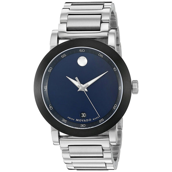Movado Men's 0607004 'Museum Sport' Stainless Steel Watch