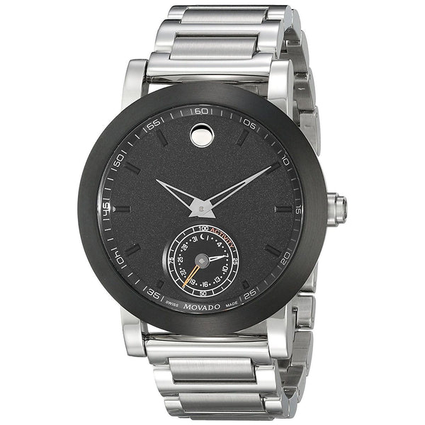 Movado Men's 0660001 'Museum Sport Motion Smartwatch' Stainless Steel Watch