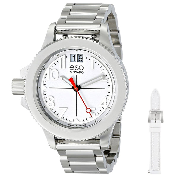 ESQ By Movado Women's 07101404 'Fusion' Interchangeable Strap Stainless Steel Watch