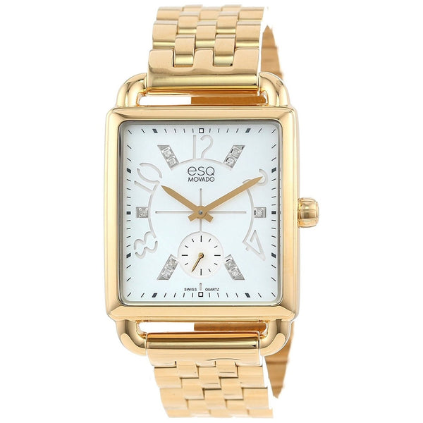 ESQ By Movado Women's 07101415 'Origin' Diamond Gold-Tone Stainless Steel Watch