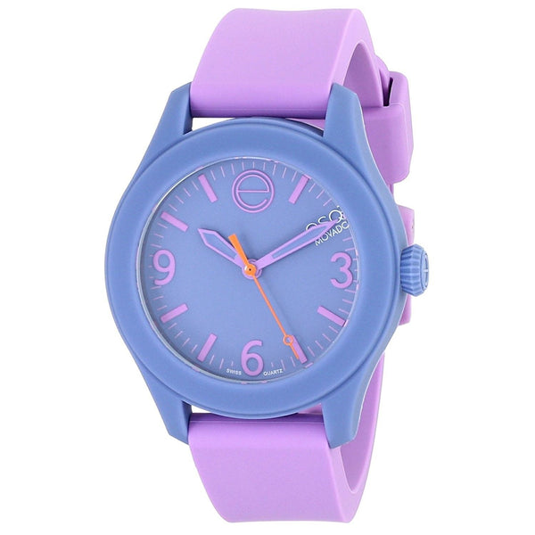 ESQ By Movado Women's 07101454 'One' Purple Silicone Watch