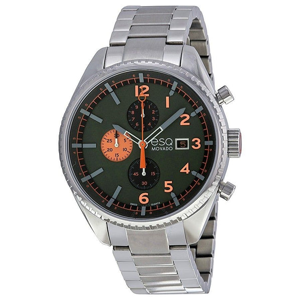ESQ By Movado Men's 07301447 'Catalyst' Chronograph Stainless Steel Watch