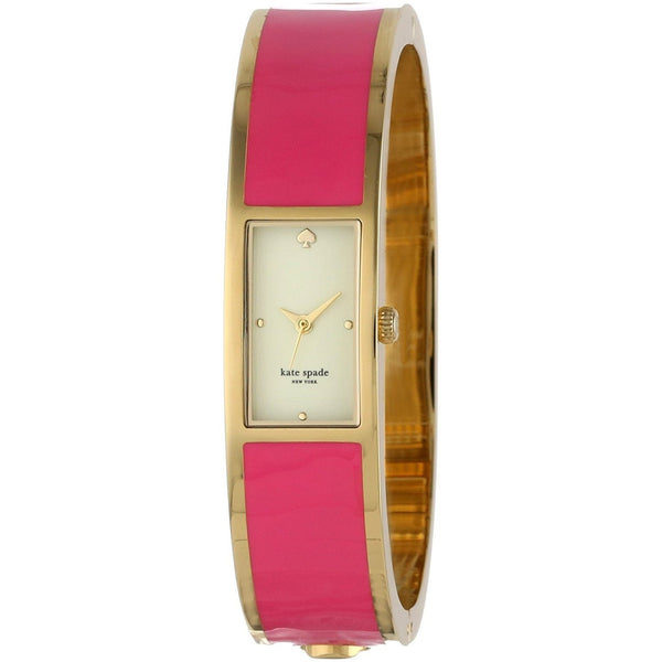 Kate Spade Women's 1YRU0047 'Carousel' Pink Stainless Steel Watch