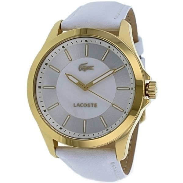 Lacoste Women's 2000732 'Sofia' White Leather Watch