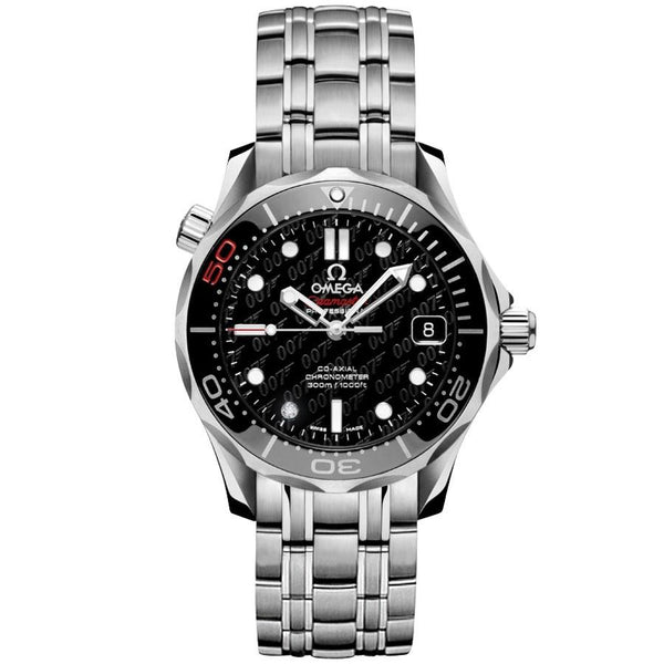 Omega Men's 212.30.36.20.51.001 'Seamaster James Bond 007' Automatic Stainless Steel Watch