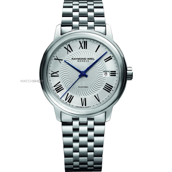 Raymond Weil Men's 2237-ST-00659 'Maestro' Automatic Stainless Steel Watch