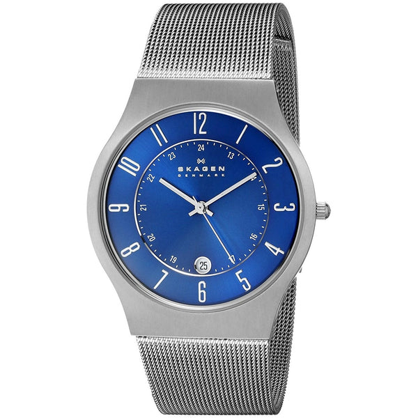 Skagen Men's 233XLTTN 'Dress' Titanium Watch