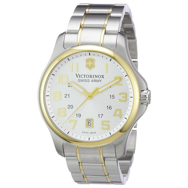 Victorinox Swiss Army Men's 241362 'Officers' Two-Tone Stainless Steel Watch