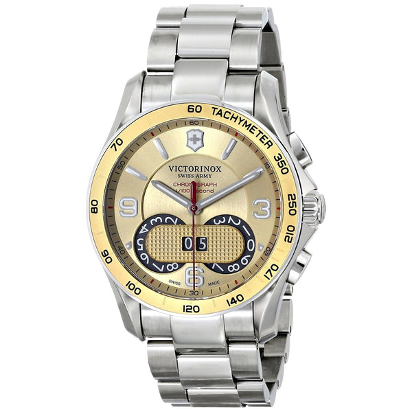 Victorinox Swiss Army Men's 241619 'Chrono Classic' Chronograph Stainless Steel Watch