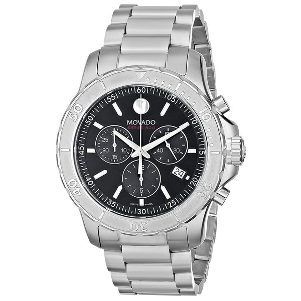 Movado Men's 2600110 '800 Performance' Chronograph Stainless Steel Watch