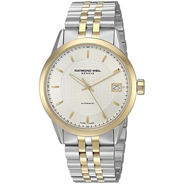 Raymond Weil Men's 2740-STP-65021 'Freelancer' Automatic Two-Tone Stainless Steel Watch