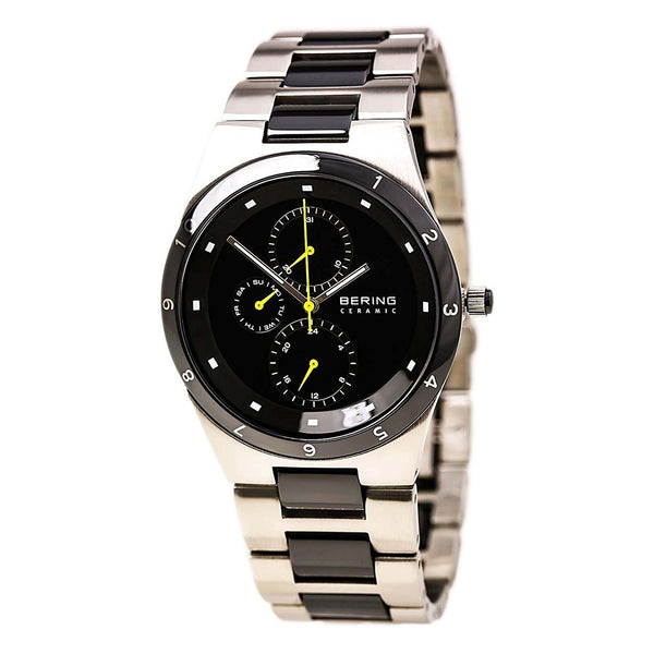 Bering Men's 32339-722 'Ceramic' Multi-Function Two-Tone Stainless steel and Ceramic Watch