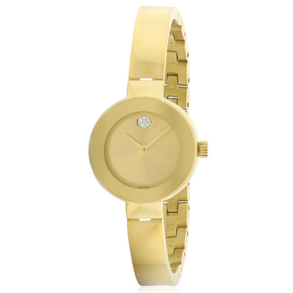 Movado Women's 3600285 'Bold' Gold-tone Stainless Steel Watch
