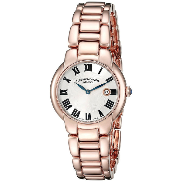 Raymond Weil Women's 5229-P5-01659 'Jasmine' Rose-Tone Stainless Steel Watch