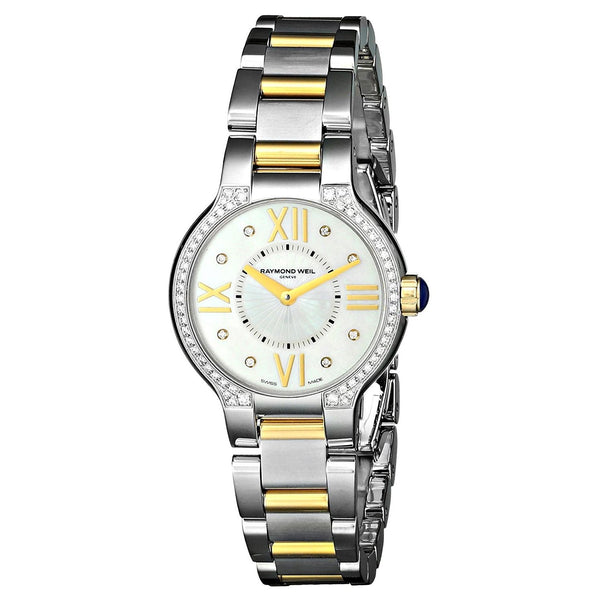 Raymond Weil Women's 5927-SPS-00995 'Noemia' Diamond Two-Tone Stainless Steel Watch