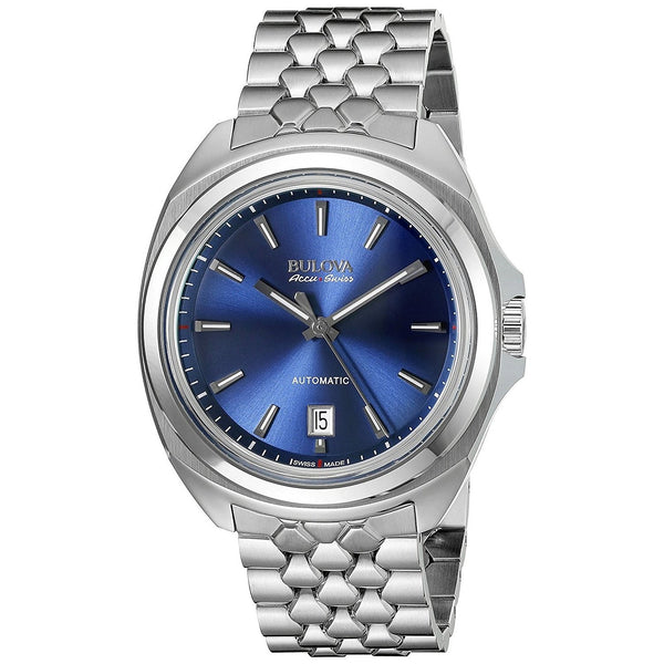 Bulova Men's 63B186 'Telc' Automatic Stainless Steel Watch