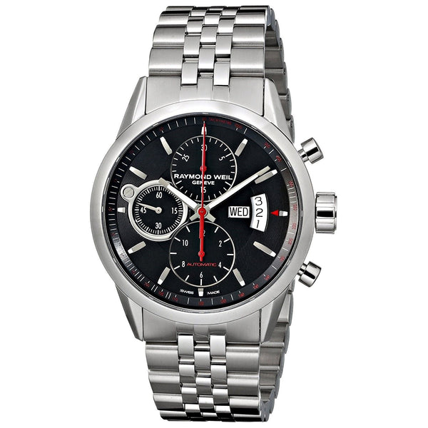 Raymond Weil Men's 7730-ST-20041 'Freelancer' Chronograph Automatic Stainless Steel Watch