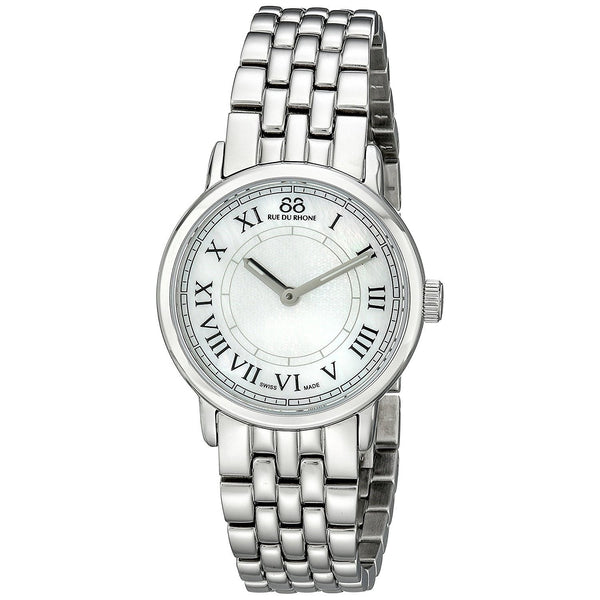 88 Rue du Rhone Women's 87WA120007 'Double 8 Origin' Stainless Steel Watch