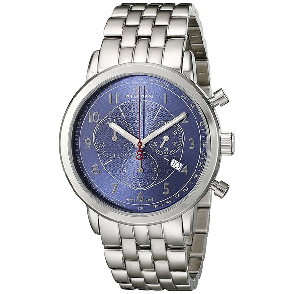 88 Rue Du Rhone Men's 87WA120051 'Double 8' Chronograph Stainless Steel Watch