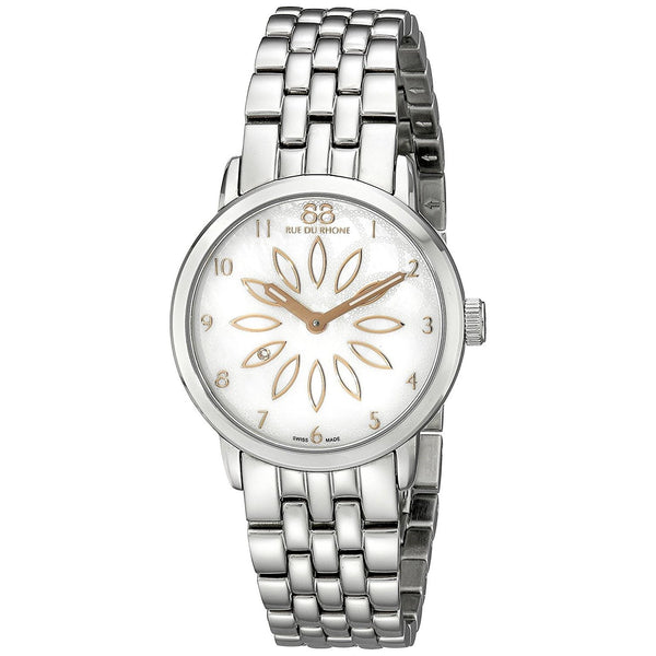 88 Rue Du Rhone Women's 87WA140007 'Double 8' Stainless Steel Watch