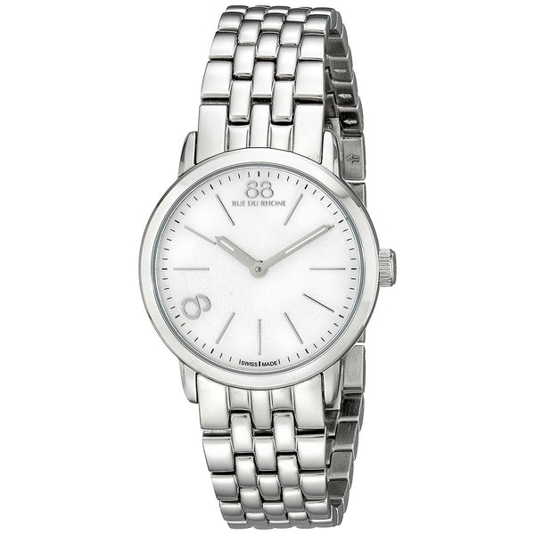 88 Rue du Rhone Women's 87WA140021 'Double 8 Origin' Stainless Steel Watch