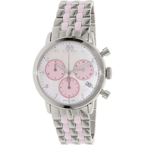 88 Rue du Rhone Women's 87WA143509 'Double 8 Origin' Chronograph Two-Tone Stainless Steel Watch