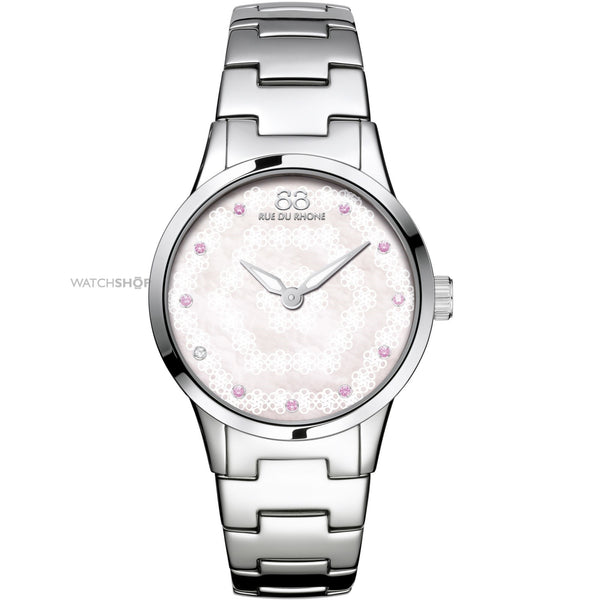 88 Rue du Rhone Women's 87WA153203 'Double 8 Origin' Diamond Stainless Steel Watch