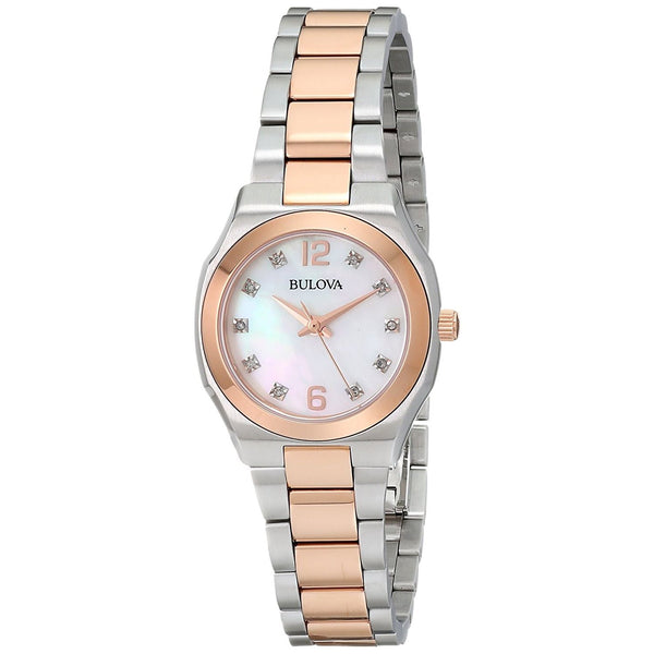 Bulova Women's 98P143 'Classic' Diamond Two-Tone Stainless Steel Watch